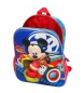 Comprar Mickey Mochila 33cm frontal 3D adaptable a carro World Mickey -27x33x11cm-