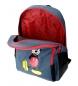 Comprar Mickey Mochila Mickey Blue -32x42x16cm doble compartimento con carro