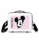 Neceser ABS Mickey Mouse Adaptable Rosa -29x21x15cm-