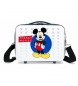 Neceser adaptable a trolley Mickey Enjoy the Day Blue -29x21x15cm-