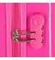 Comprar Minnie Minnie suitcase set rigid 70L / 34L Rock Dots Fuchsia -38x55x20 / 48x68x25cm