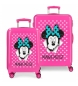 Comprar Minnie Ensemble valise Minnie rigide 70L / 34L Sunny Day Fuchsia -38x55x20x20 / 48x68x25cm