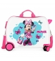 Maleta correpasillos 2 ruedas multidireccionales Minnie Good Mood -39x50x20cm-