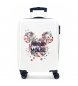 Comprar Minnie Cabin case Minnie rigid 55cm Sunny Day Flowers Blue -38x55x20cm