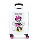 Maleta de cabina rígida Minnie Enjoy the Day -36x55x20cm-