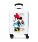 Maleta de cabina rígida Minnie Enjoy the Day Dots -36x55x20cm-