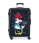 Comprar Minnie Medium suitcase Minnie rigid 68cm Rock Dots Blue 70L / -48x68x26cm