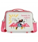 Neceser ABS Minnie Nature Adaptable  -29x21x15cm-