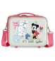 Neceser ABS Minnie New York Adaptable  -29x21x15cm-