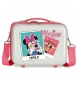 Neceser ABS Minnie Smile Adaptable  -29x21x15cm-