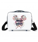 Neceser ABS Minnie Sunny Day Flores Azul  -29x21x15cm-