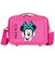 Neceser ABS Minnie Sunny Day Fucsia  -29x21x15cm-