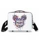 Neceser adaptable a trolley Minnie Magic corazones -29x21x15cm-