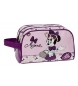Neceser doble compartimento Minnie Glam rosa -26x16x12cm-