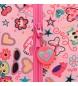 Comprar Minnie Neceser Minnie Stickers adaptable a carro con bandolera -25x19x15cm-