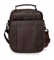 Compar Movom 2 compartments shoulder bag Movom Clark Brown -20x25x12cm
