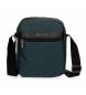 Bandolera Movom Business doble compartimento Azul -19,5x23,5x9cm-