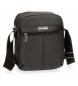 Bandolera Movom Business doble compartimento Negra -19,5x23,5x9cm-