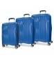 Juego de maletas Movom Fuji Azul rígidas -37L/67L/98L-