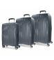 Juego de maletas Movom Fuji Gris rígidas -37L/67L/98L-