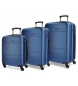 Compar Movom Mobile suitcase Movom Galaxy rigid 55-68-78cm Blue