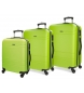 Compar Movom Valise mobile Movom Galaxy rigide 55-68-78cm Pistache
