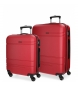 Compar Movom Case set Movom Galaxy rigid 55-68cm Red -40x55x20cm / 48x68x27cm