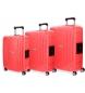 Comprar Movom Newport Movom Luggage Set 55-65-75cm rigide rouge