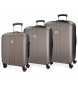 Compar Movom Set di valigie Riga Movom Riga 55-70-80cm Antracite -40x55x20cm / 49x70x26cm / 56x80x29cm