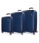 Compar Movom Ensemble de valises Movom Tokyo Bleu Marine Bleu marine rigide 55-66-78cm