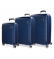 Juego de maletas Movom Tokyo Azul Marino rígidas 55-66-78cm