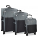 Compar Movom Juego de maletas Movom Tucson gris 55-65-75cm