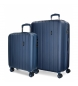 Comprar Movom Juego de maletas Movom Wood Marino -38,5x55x20cm / 49x70x28cm-