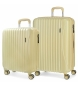 Compar Movom Set of rigid suitcases  Movom Trafalgar Yellow -38x55x20cm / 48x67x26cm