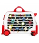 Compar Movom Suitcase with 2 multidirectional wheels Movom Boo to You -38x50x20cm