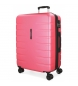 Compar Movom Large suitcase 79cm Movom Turbo pink -79x55x32cm
