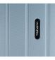 Comprar Movom Movom Wood mala grande mala rígida Prata -49x70x28cm