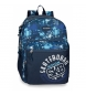 Compar Movom Backpack 46cm Double Adaptable Compartment Movom Underground Blue -31x46x15 cm