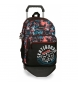 Compar Movom Backpack 46cm Double Compartment with trolley Movom Underground Black -31x46x15 cm