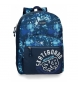 Compar Movom Adaptable Backpack Movom Underground Blue -32x42x17,5 cm
