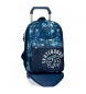 Compar Movom Backpack with trolley Movom Underground Blue -32x42x17,5 cm