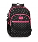 Compar Movom Backpack double compartment adaptable to car Movom Bubbles Fuchsia -33x44x13,5cm