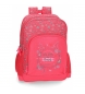 Mochila doble compartimento adaptable a carro Movom Enjoy -32x45x15cm-