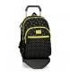 Compar Movom Backpack double compartment with cart Movom Bubbles Yellow -33x44x13,5cm