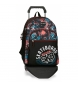 Compar Movom Backpack Double Compartment with cart Movom Underground Black -33x44x13,5 cm