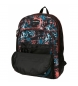 Comprar Movom Backpack Double Compartment with cart Movom Underground Black -33x44x13,5 cm