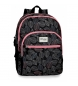 Compar Movom Backpack double compartment Movom Leaves Coral -33x46x17cm
