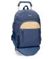 Comprar Movom Mochila escolar Movom Babylon Azul -33x44x13,5cm- con carro