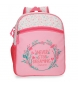 Mochila pequeña adaptable Movom Never Stop -27x33x11cm-