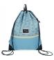 Mochila saco Movom Wink Azul -42x32cm-
